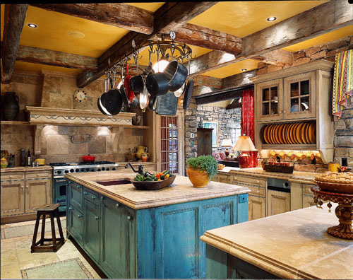 Det klassiska köket håller i längden